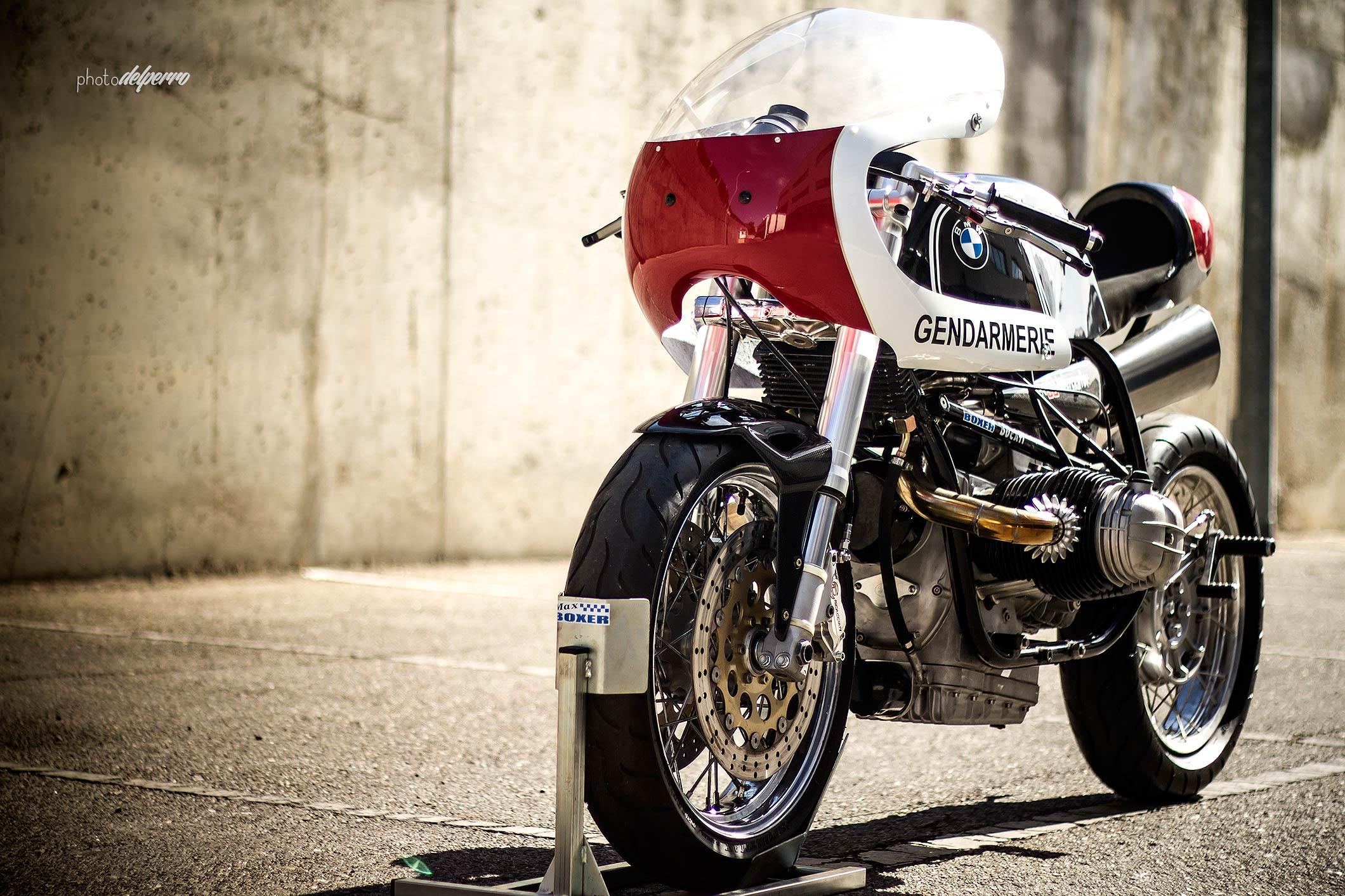 """""""Interceptor"""" Fotografías para Radical Ducati"""